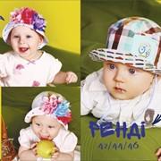 Шапочки дитячі АВЕЛІЯ та РЕНДІ фото