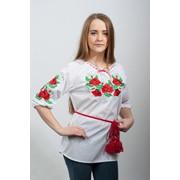 Вышиванка Женская Мак Укроп фото