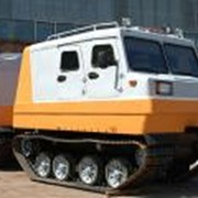 Двухзвенный гусеничный транспортер ДТ-2П фото