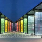 Сотовый поликарбонат от 3 до 10мм , Цветной и прозрачный. Размер 2,1х6м. Арт № 12-01-28 фото