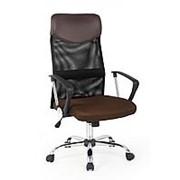 Кресло компьютерное Halmar VIRE (коричневый) фото