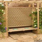 Пергола, решетка деревянная фото