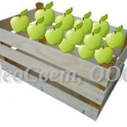 Тара специальная под фрукты и овощи. Ящик из шпона (деревянный). фото
