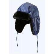 Шапка-ушанка Антифрост синяя фото