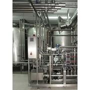 Монтаж оборудования и трубопроводов станций CIP мойки фото