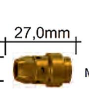 142.0240.5 Вставка для наконечника M11х1/M8/ 27,0 мм., для WT540 MS, Abicor Binzel фото