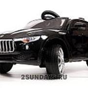 Детский электромобиль Maserati Levante 4WD T005MP черный глянец фото