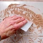 Трафарет для декора, изготовление трафаретов в Одессе фото