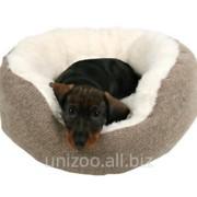 """Спальное место для собак Trixie """"Yuma"""" коричневый/белый (Трикси) фото"""