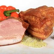 Продукт из свинины копчено-вареный Бекон Княжеский фото