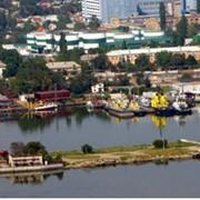 ТРЕЙДИНГ|комплекс по перевалке насыпных грузов в Николаевском речном торговом порту фото