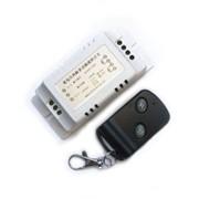 Электрический выключатель на 220В на два канала с одним брелком ДУ, с обучающей кнопкой, к которому можно подсоединить дополнительные брелки ДУ фото