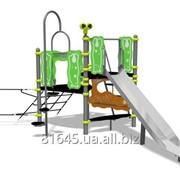 Детские площадки HAGS от 2 до 5 лет Zingo Dek, Steel Slide фото