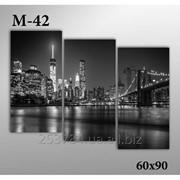 Картина модульная М-42, размер 60х90 фото