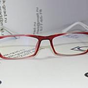 Очки МА2334 компьютерные (цвет красно-белый) фото