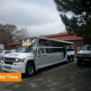 Прокат Лимузин Mercedes Helendvahen лимузин (белый, 4-х осный (20 мест) фото