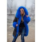Куртка-парка на меху фото
