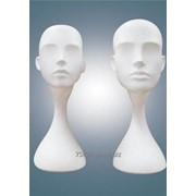 Голова-манекен для демонстрации головных уборов фото
