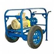 Электропомпа на колесной тележке УОДН 120-100-65 Н-Э (конструкционная сталь фото