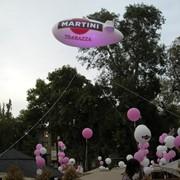 Воздушные шары с логотипом заказчика, Большие воздушные шары и дирижабли. фото