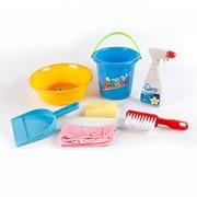 Набор для уборки 090 - 7 предметов фото