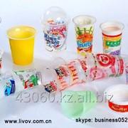 Одноразовые пластиковые стаканчи фото