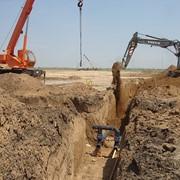Монтаж водоводов из стальных и ПНД труб фото