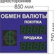 Noname Табло курсов валют № 6. Переменный знак. (одностороннее) арт. КрС22180 фото