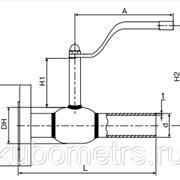 Краны стальные Broen Ballomax КШТ 60.104.100 фото