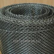 Сетка тканая сталь 08х17н13м2т, размер 5х5х1,2 мм фото
