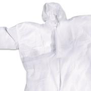 Комбинезон спанбонд 40 г/кв.м, закрытая молния, защитный шов фото