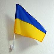Флаг с флагштоком (настенный, автомобильный) фото