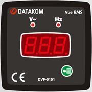 DATAKOM DVF-0101 Вольтметр-частотомер, 1 фаза, 72x72mm фото