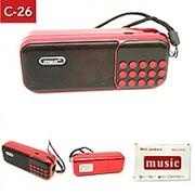 Колонка радиоприемник C-26 FM/MP3/SD/AUX фото