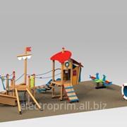 Площадки 3D модели Детям от 2 до 5 лет Тип комплекса 1.4 фото
