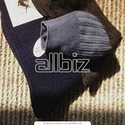 Носки мужские однотонные фото