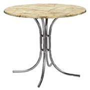 Верзалитовые столы круглые диаметр 90 фото