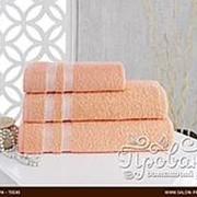 Полотенце для ванной Karna PETEK хлопковая махра абрикосовый 100х150 фото