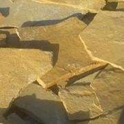 Камень природный песчаник желтый фото
