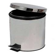Корзина для мусора с педалью фото