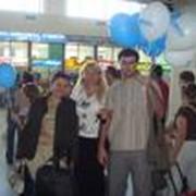 Встреча в аэропорту фото