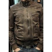Замена подкладки в кожаной куртке, пошив и ремонт изделии из кожи фото