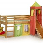 Мебель детская, Детская кровать FLO (Halmar) фото