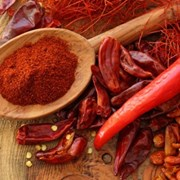 Сушеный, красный, цельный, дробленый горький перец фото