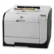 Принтер лазерный цветной HP Color LaserJet Pro 400 M451dw (CE958A) фото
