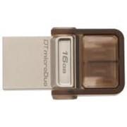 USB флеш накопитель Kingston 16Gb DT MicroDuo (DTDUO/16GB) фото
