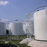 Внешнее антикоррозионное-светоотражающее покрытие резервуаров для хранения нефтепродуктов. фото