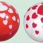 Скользящий шар Мигающий Сердца фото