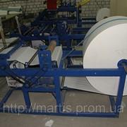 Оборудование для производства двухслойной целюлозной туалетной бумаги и полотенец на гильзе с перфорацией и теснением фото