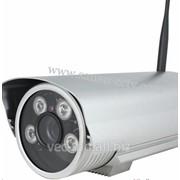 IP видеокамера 2 Мег, наружная, wi-fi, слот под SD card фото